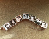 ELVIS over the years.... Young and always handsome. Square link bracelet. FREE USA shipping