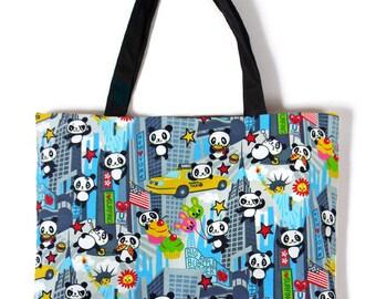 Kawaii Panda Carry Bag