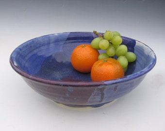 Purple and blue bowl