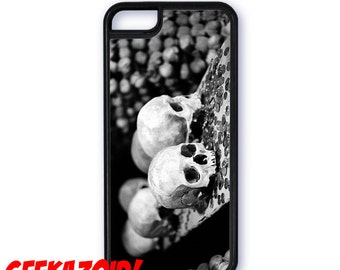Skulls in Sedlec Ossuary Cell Phone Case for iPhone and Samsung Galaxy Macabre