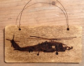 MH60R Navy Helicopter , ornament, plaque