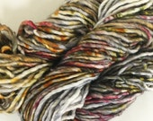 Ready to Ship Hand Dyed Yarn - Metal Mind - Big Fatty