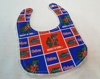 University of Florida Designer Baby Bib - Go Gators!