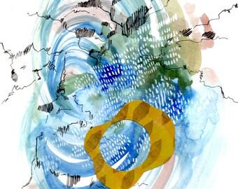 Original Art: Rainstorm