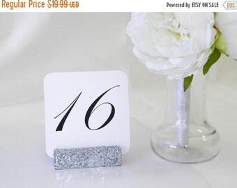 15% off ends Fri. 5pm Glitter Table Number Holders +Silver Wedding Table Card Holder + Silver glitter table card holder (Set of 10)