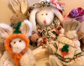 Vintage Boyd's Bunny Collection Lot of Five Excellent Condition