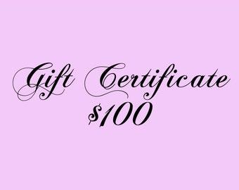 Gift Certificate 100 Dollars for Kauai Art or Art Classes on Kauai