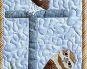 Burrowing Owl Applique Quilt Pattern