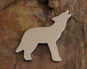"""5 Deburred 1 1/4"""" X 1 1/2"""" WOLF *Choose Your Metal* Aluminum Brass Bronze Copper Nickel Silver Stamping Blanks Stamping Blanks"""