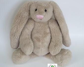 handmade soft plush bunny