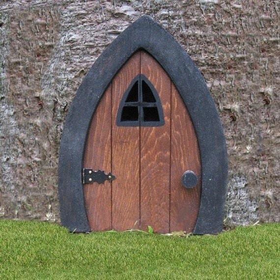 Gnome doors fairy doors faerie doors elf doors 9 inch for Fairy pixie doors