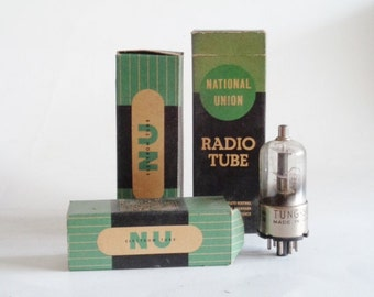 National Union Radio Tubes