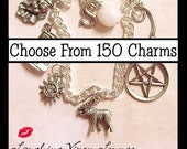 Custom Supernatural Jewelry - Customize Supernatural Necklace - Supernatural Bracelet - Simple Supernatural Charm Bracelet