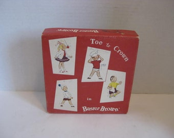 Vintage Buster Brown Childs Clothing Box Shirt Box