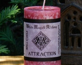 ATTRACTION Spell Candle 2x3 Pillar