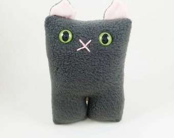 Grey Cat Nubbin - Made To Order