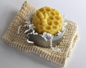 Beeswax Lotion Bar, Solid Lotion,