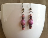 Piglet's Favorite... Extreme Decaf Earrings .. FREE SHIPPING