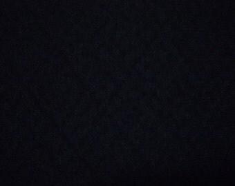 Vintage haori S197, black, silk,