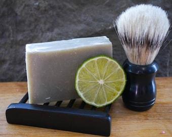 Cedar Grapefruit Shaving Soap- mens shave soap/beard/wet shaving/shaving brush/shave soap/natural soap/clean shave/vegan/mens soap/face soap