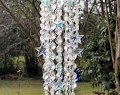 Crystal Suncatcher, Stars Crystal Suncatcher, Stars and Moon, Celestial Suncatcher, Garden Decor, Home Decor