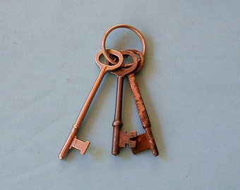 Antique Skeleton Key Keys Ornate Keys Skeleton Keys Industrial Key Keys Steampunk Keys DIY Jewelry Keys