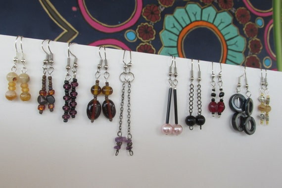 ten pair earring lot