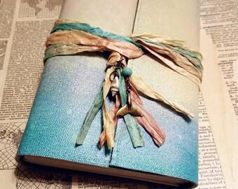 Mermaid Journal - mermaid seashells beach vacation journal