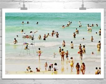 France Beach, Ocean Art, Beach Photography, Beach Art, Atlantic Ocean, French Beach, South of France, Lacanau Ocean, Aquitaine