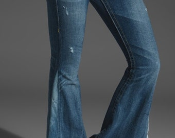 Bell Bottoms Jeans Women  Men CUSTOM MADE