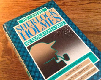 The Complete Sherlock Holmes by Sir Arthur Conan Doyle vintage book