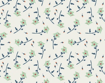 Bonnie Christine Reminisce Cotton in Freshly Picked Mint for Art Gallery Fabrics - 1 Yard
