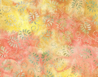 Wilmington Batiks Dancing Leaves 22120-537 Cotton Fabric by the half yard