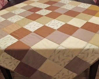 Lovely Brown Quilt