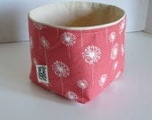 Medium Bucket - fabric storage bin