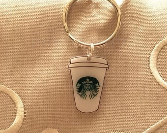 A Whole Latte Love Keychain