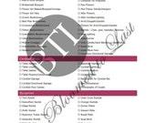 The Ultimate Wedding Day Decor Checklist