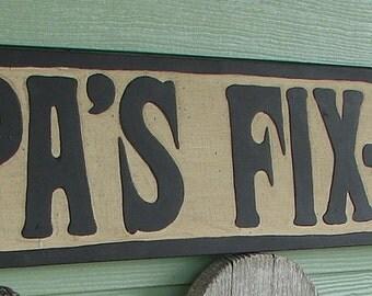 Papa's Fix It Shop