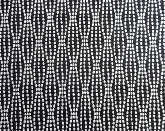 2 Yards Gorgeous High End Contemporary Black and White Upholstery Fabric Modern Craft Apparel