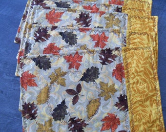 Place Mats Autumn/Fall Table Decor Home Decor Housewares Handmade