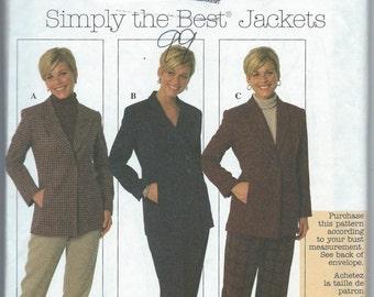 Simplicity 7906 Misses' Jacket - Size 12-14-16 - Uncut Pattern