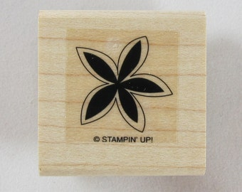Stampin Up! - Flower Rubber Stamp #RS209
