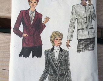 Vogue Sewing Pattern 8088 Womens Suit Jacket  sz 16