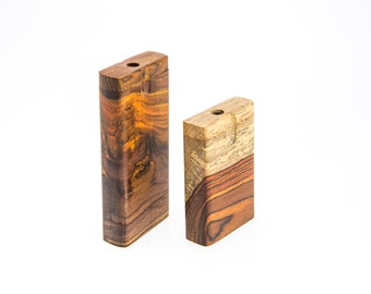 Dugout Cocobolo Wood 4 inch