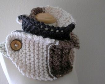 neutral territory. knitting pattern chunky knit button scarf pdf . xl cowl neck warmer knit pattern . convertible scarf knitting tutorial