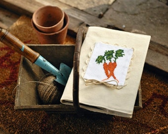 Cross stitch pattern VEGETABLES  cross stitch,needlepoint,embroidery,handmade,diy,kitchen,garden,scandinavian,carrott,green,anette eriksson