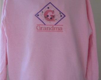 Grandma Signature Series Embroidered Personalized Sweatshirt