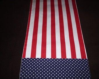 Amerian Flag Table Runner