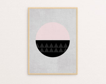 ON SALE! Circular Two Sizes -  Print Or Poster
