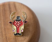 Mini Gentleman Deer ENAMEL PIN